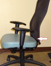 Chair w Arrow